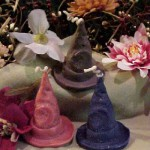 Witch Hat Tart 1 Cavity Silicone Mold 1821 (2)